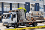 picture of a scaffolding truck